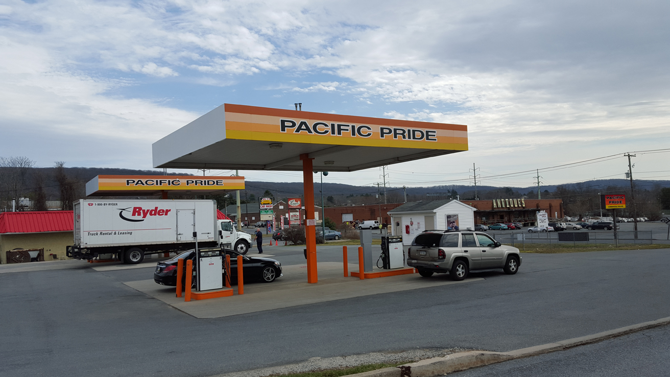 Pacific Pride Gas Station