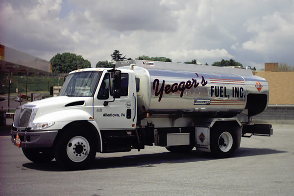 Yeager's Fuel Heating Oil Truck